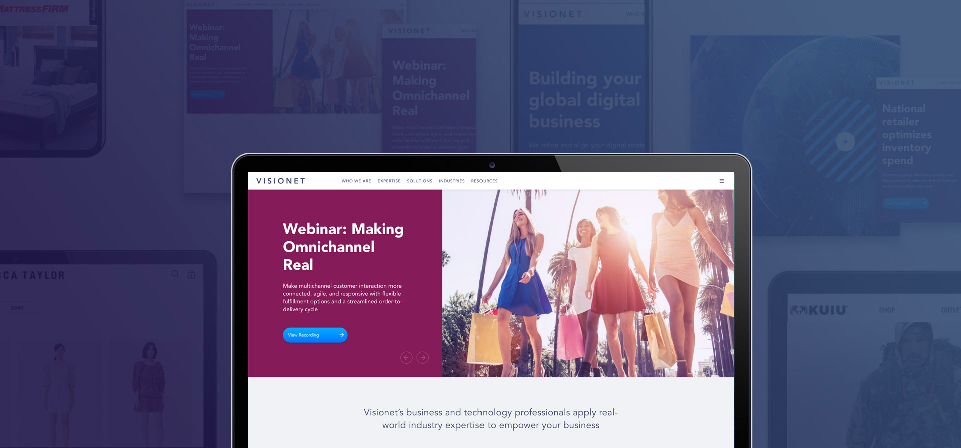 Visionet Launches a Brand New Website